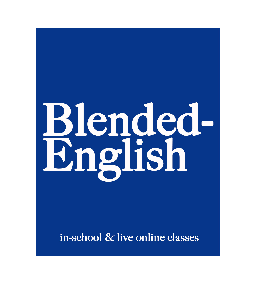 blended english blue