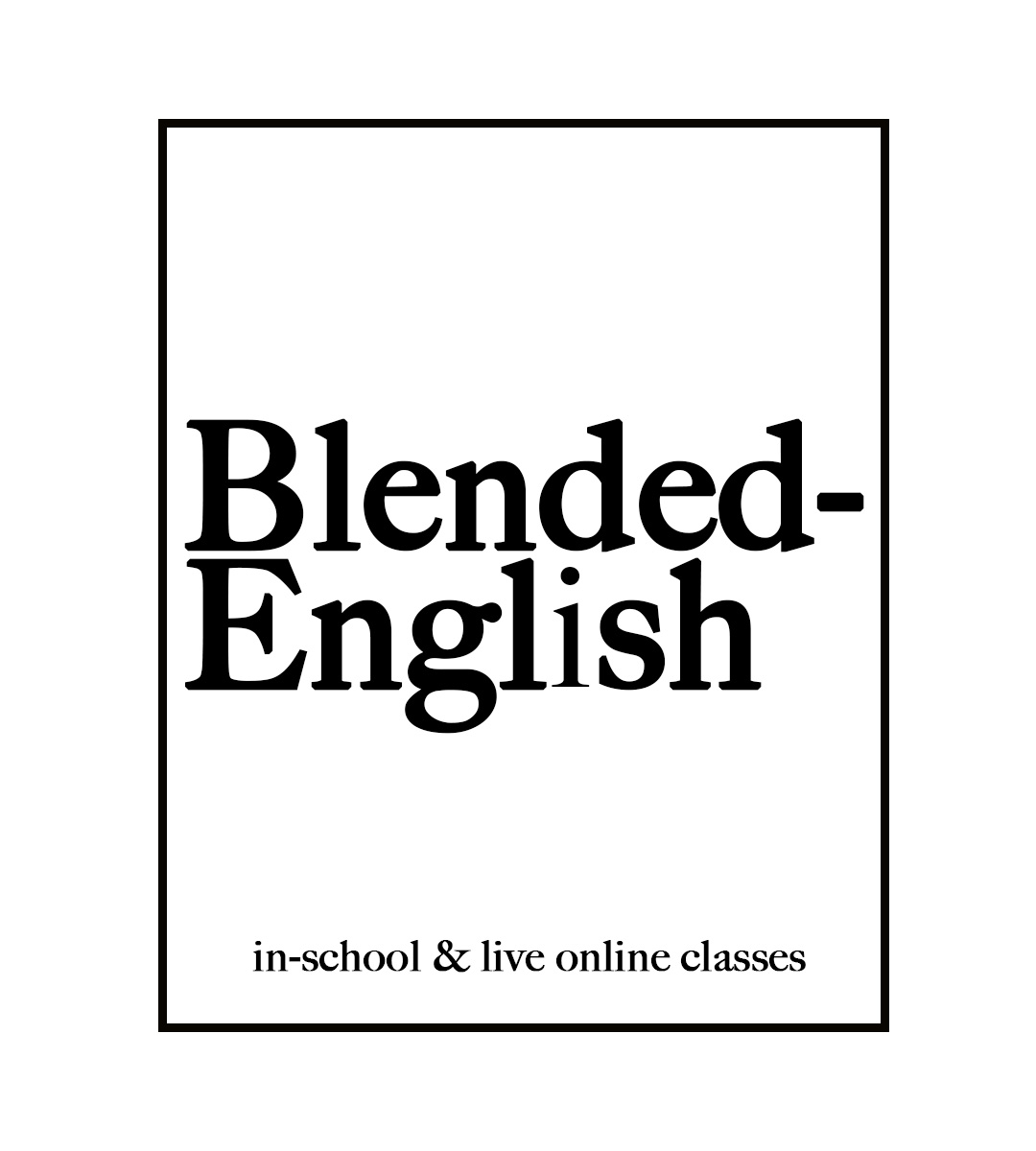 blended english white